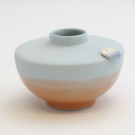 Dip vase | Wide | Blue | 054