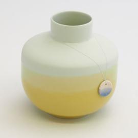 Dip vase | Round  | Mint | 084