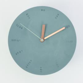 Clock - Large   Ocean
