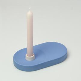 Candle Holder - singel wide | Cobalt 169
