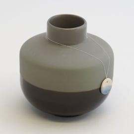 Dip vase | Round  | Dark grey | 100