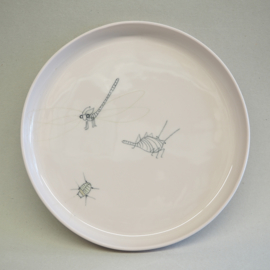 Plate Insect | XL | Pink