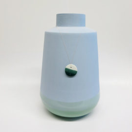 Dip vase | Super big | Blue | 071