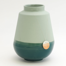 Dip vase | Big | Green | 062