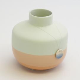 Dip vase | Round  | Mint | 067