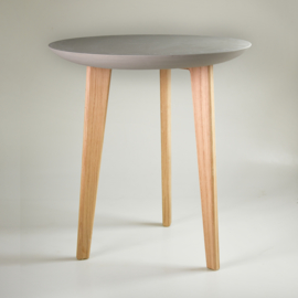Porcelain table | Dark grey