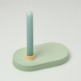 Candle Holder - singel wide | Green 312