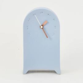 Clock | Desk | Blue