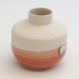 Dip vase | Round  | Pink | 059