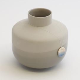 Dip vase | Round  | Grey | 090