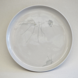 Plate Insect | XL | Grey