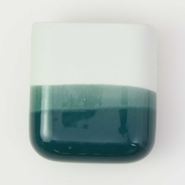 Dip wall vase | Short | Mint 062