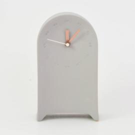 Clock | Desk | Grey