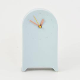 Clock | Desk | Light blue