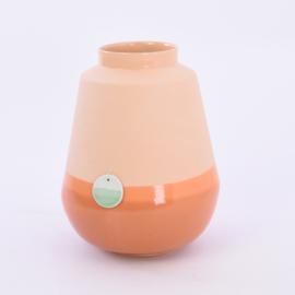 Dip vase   L    Orange 054