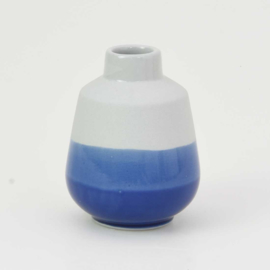 Dip vase | S |  Mouse grey 094