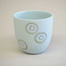 Cup food | Small | Light blue | Kiwi
