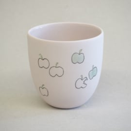 Cup food | Small | Pink | Apple