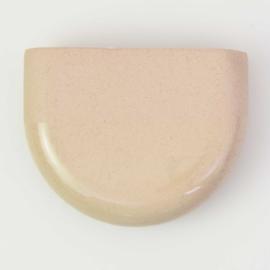 Dip wall vase | Half round | Sand