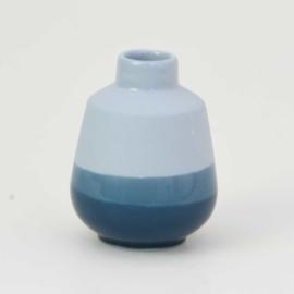 Dip vase | S |  Blue 065