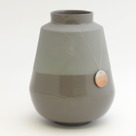Dip vase | Big | Dark grey | 090