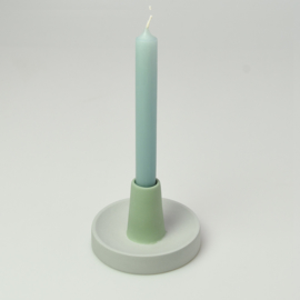Candle Holder - singel high | Mouse grey 153