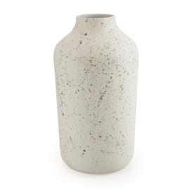 Clay vase | L | Black | Dots