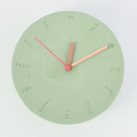 Clock - Large   Green