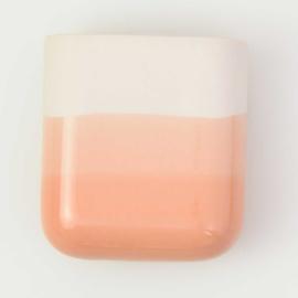 Dip wall vase | Short | Nude 067