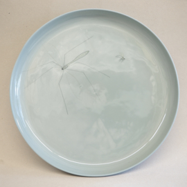 Plate Insect | XXL | Pigeon blue