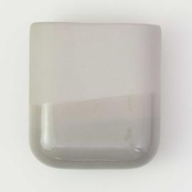 Dip wall vase | Short | Grey 090