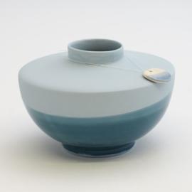 Dip vase | Wide | Blue | 065