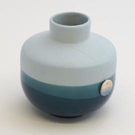 Dip vase | Round  | Blue | 065