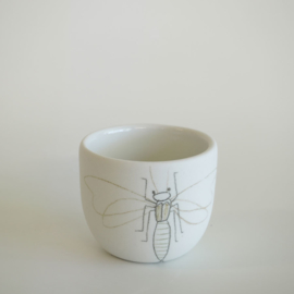 Cup Insect | White | S