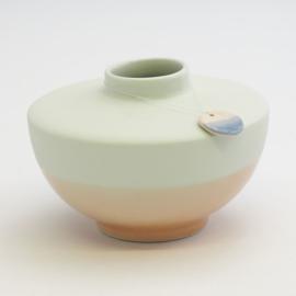 Dip vase | Wide | Mint | 067