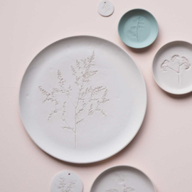 Plant stamp plate | XL | Nude