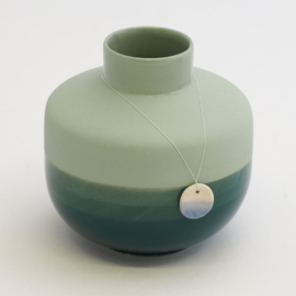 Dip vase | Round  | Green | 062