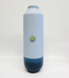 Dip vase   Super high   Blue   065