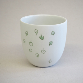 Cup food | Small | White | Spinazie