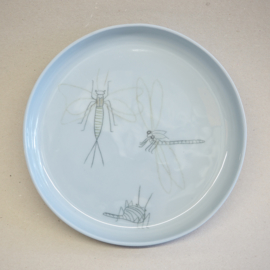 Plate Insect | Breakfast | Blue