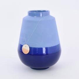 Dip vase   L    Cobalt 094