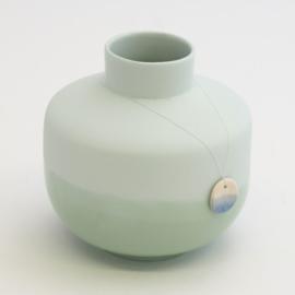 Dip vase | Round  | Light blue | 071