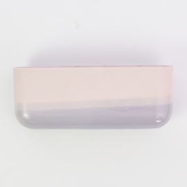 Dip wall vase | Wide | Pink 077