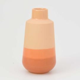 Dip vase | M |  Orange 054