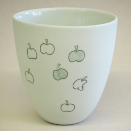 Cup food | Large | Mint | Apple