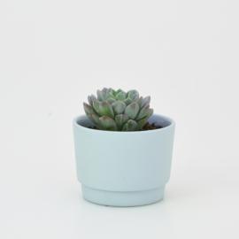 Mini flowerpot - XS - Light blue