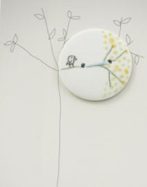 Button | Bird | Mint