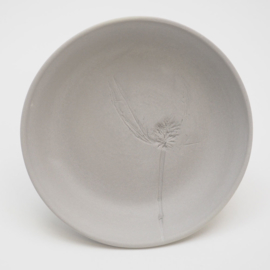 Plant stamp plate | S | Grey