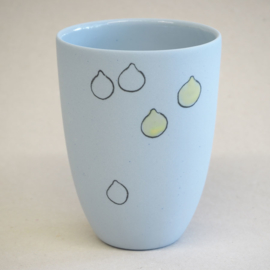 Cup food | Medium | Blue | Lemon