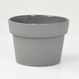 Flowerpot - M - Dark grey